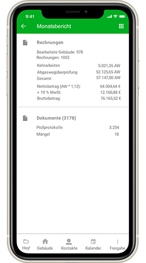 Screenshot - erechnung mit digibase edi