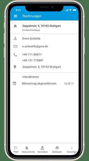 Screenshot digibase finance - die Buchhaltungssoftware von digibase