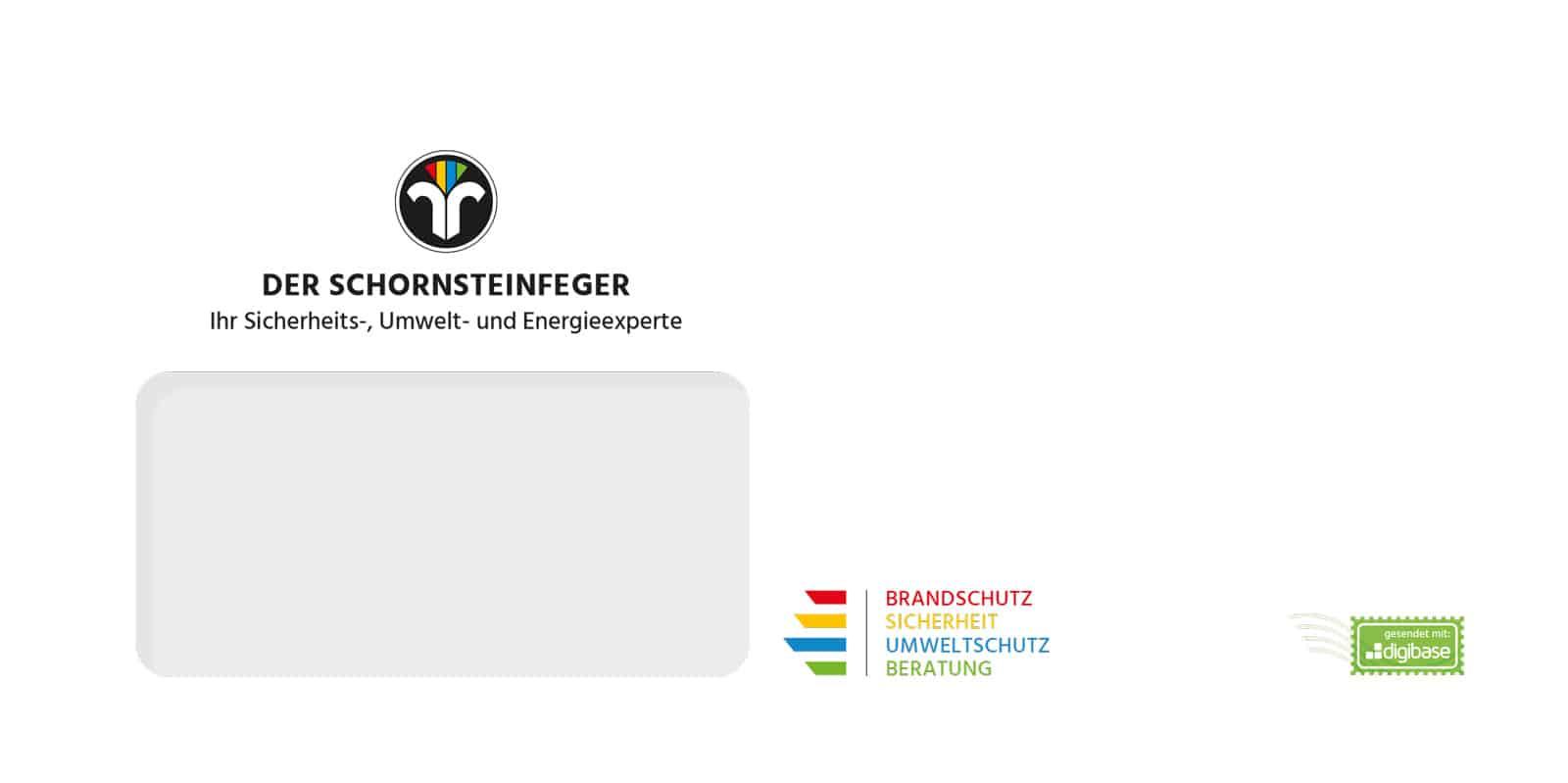 digibase network - Briefumschlag Schornsteinfeger