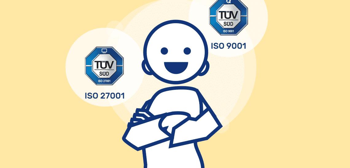 Vom TÜV doppelt zertifiziert – Heilmann Software