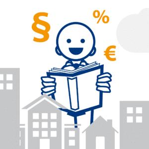 Illustration digibase für Immobilienverwalter (Postversand und CRM)