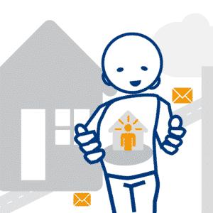 Illustration digibase für Eigentümer