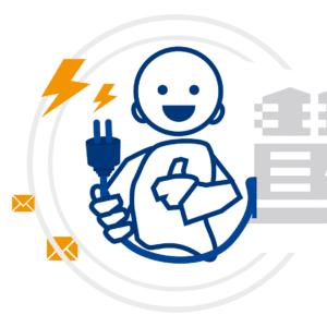 Illustration - digibase für Versorgungsunternehmen (Rechnungsprogramm und CRM)