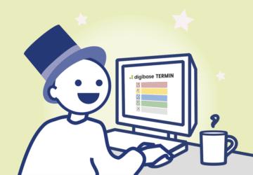 digibase Feature News – Terminanmeldung